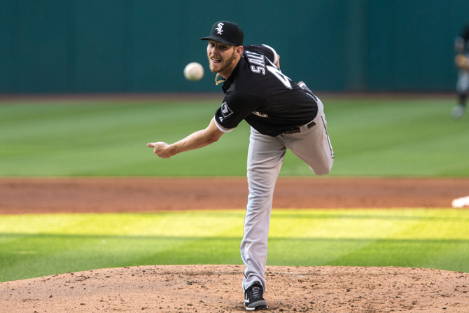 Chris Sale pitching mechanics