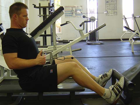 Pitchers workout Cable Row exercise image