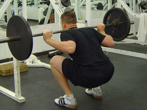 Pitchers workout Squat exercise image