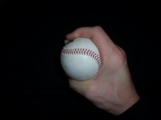 curveball grip photo